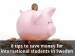 8 tips to save money for international students in Sweden